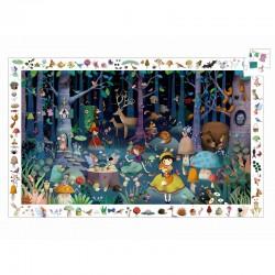 Den fortryllede skov - Observations puslespil - Djeco