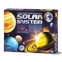 3D Solsystem uro Konstruktionssæt - KidZLabs