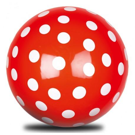 Rød bold med hvide prikker - Die Spiegelburg