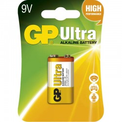Super Alkaline 9V batteri