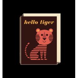 Hej Tiger kort - Lille - Ingela P. Arrhenius