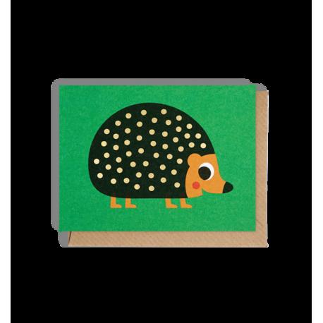 Pindsvin kort - Lille - Ingela P. Arrhenius