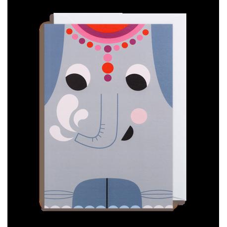 Hej Elefant kort - Ingela P. Arrhenius